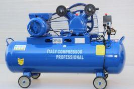 Компресор за въздух 100 литра  - 1 година гаранция | Rudimpex.com