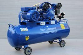 Компресор за въздух 100 литра  - 1 година гаранция   Rudimpex.com