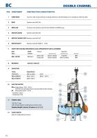 """Италианска потопяема дренажна помпа за мръсни води Pedrollo BCm,Q=3-45 m3/h, H=14-2 m, 2"""""""