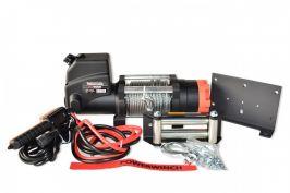 Лебедка електрическа PowerWinch PW6000 lb  - стпманено въже 16.8мм - 6.4 мм- за ATV, малки джипове - 2 години гаранция | Rudimpex.com