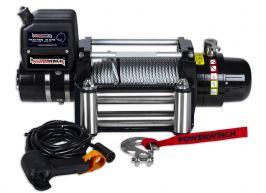 Лебедка електрическа PowerWinch PW12.0 PANTHER 12000 Lbs - стоманено въже 27 метра/ 9.5 мм - дистанционно - 2 години гаранция | Rudimpex.com