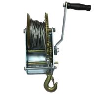 Ръчна лебедка 907 кг / 2000LB winch с 10 метра стоманено въже - за автомобил - лодка -  ATV - платформа  - 00518 | Rudimpex.com
