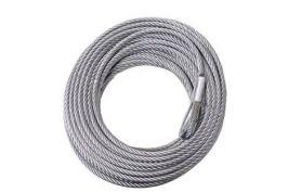 Стоманено въже за лебедка 9.5 мм / 28 м