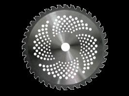 Мощна Моторна коса GREENYARD - 52 куб.см - 1.64 kW - 2.2 к.с - с  прав прът - кордова глава - тризъб диск - презрамен колан - циркулярен диск | Rudimpex.com