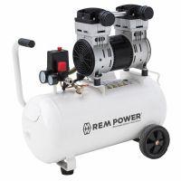 REM Power EL 200/8/40, Компресор с електродвигател безмаслен 8 bar, 40 л, 1.5 к.с., 230 V