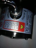 Eлектрическа лебедка  - за джип и пътна помощ  12 V - 13500 Lbs / 6136 кг. - 4.5 kw - 6 к.с. - стоманено въже 26 метра / 9.5 мм - с включена планка за монтаж - безжично дистанционно - защитен калъф - ръкавици - 1 година гаранция   Rudimpex