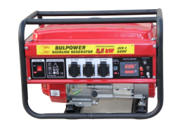 Генератор за ток Bulpower - 3.5 KW с ръчен старт бензинов- 1 година гаранция