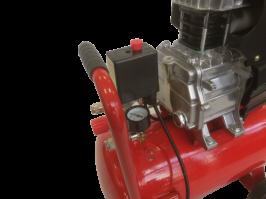 Професионален Компресор за въздух GREENYARD GY-AC24 - Резервоар  24 литра - 8 бара -  два манометъра - 178 л/мин -  100% медни намотки - високо качество  | Rudimpex.com