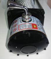 Eлектрическа лебедка  - за джип и пътна помощ  12 V - 13500 Lbs / 6136 кг. - 4.5 kw - 6 к.с. - стоманено въже 26 метра / 9.5 мм - с включена планка за монтаж - безжично дистанционно - ръкавици - 1 година гаранция | Rudimpex