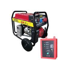 Бензинов генератор 9.0 KW за трифазен и монофазен ток с ел. стартер и транспортна количка- АВТОМАТИКА- 2 ГОДИНИ ГАРАНЦИЯ