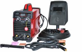 ПРОФЕСИОНАЛЕН Инверторен електрожен за безгазово ММА и газово TIG заваряване  с Аргон  - TIG 250А  - MMA 200А - IGBT - ARC - 250A - горещ старт - реални ампери - аксесоари - високо качество - 1 година гаранция | Rudimpex.com