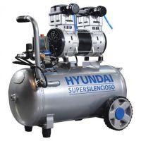 Компресор за въздух 50л безмаслен / обезшумен HYAC 50-2S HYUNDAI