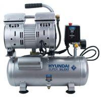 Компресор за въздух 6л безмаслен / обезшумен HYAC 6-07S HYUNDAI