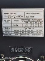 Портативен / Mini Инверторен електрожен IGBT - ARC - ММА - 160А реални ампера - 5.6 kVA - с цифров LED дисплей и соларна маска - електроди до 3.2 мм - високо качество - 1 година гаранция   Rudimpex.com