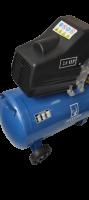 Компресор за въздух GREENYARD Tools GY-AC24-Blue - Резервоар  24 литра - 8 бара -  два манометъра - 178 л/мин - високо качество  | Rudimpex.com